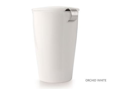 Picture of White Orchid Kati Tea Infuser Mug