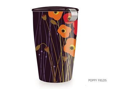 Picture of Poppy Fields Kati Tea Infuser Mug