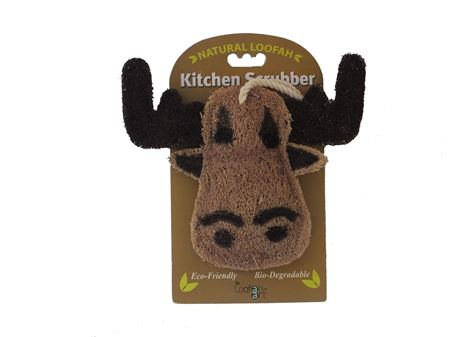 Picture of Moose Loofah Kitchen Scrubber