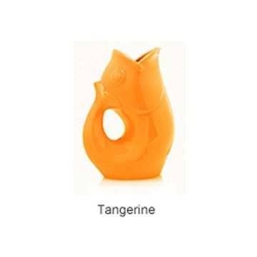 Picture of Large Gurgle Pot Tangerine