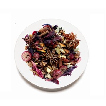 Picture of Cranberry Pomegranate Infusion Herbal Tea