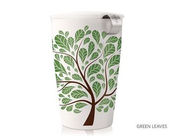 Picture of Green Leaves Kati Tea Infuser Mug