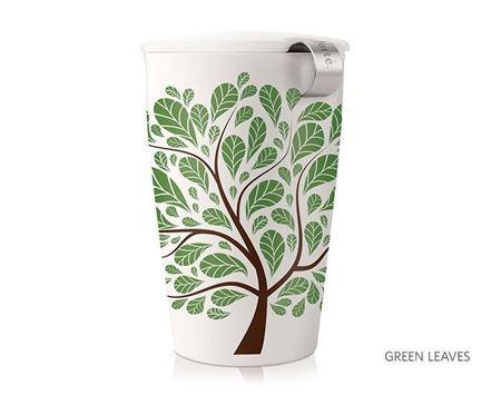 Picture of Green Leaves Kati Tea Infuser Mug