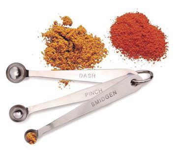 Picture of Pinch, Smidgen & Dash Measuring Spoon Set