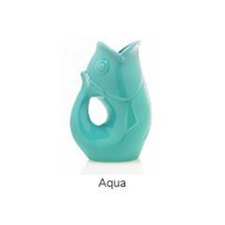 Picture of Large Gurgle Pot Aqua