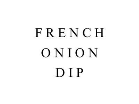 Picture of French Onion Dip