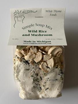 Picture of Wild Rice & Mushroom Soup