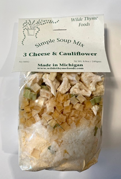 Picture of 3 Cheese & Cauliflower Soup