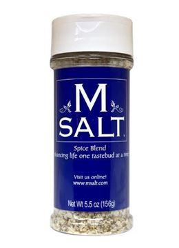 Picture of M SALT 5.5 oz Plastic Shaker Container